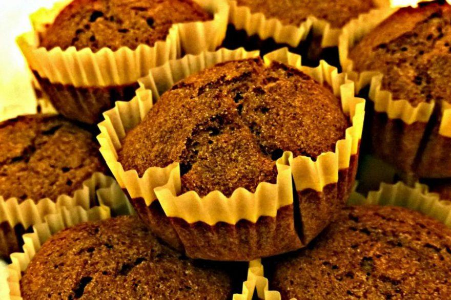 Recept • fahéjas-gyömbéres muffin