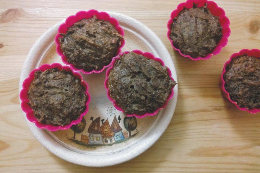Recept • céklás-mákos muffin