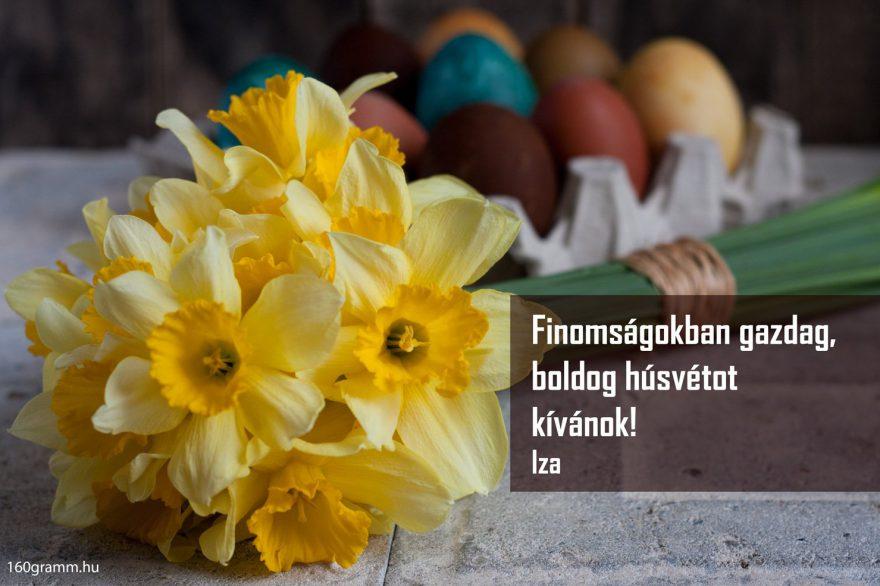 Húsvéti köszöntő 160gramm blog módra