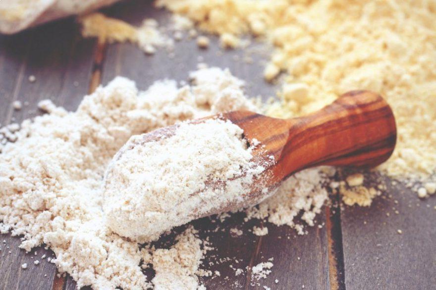 A 160 grammos diétában leggyakrabban használt lisztek