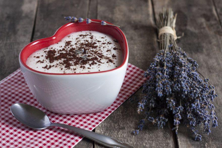 Kakaós-levendulás tejbegríz tej- és gluténmentesen