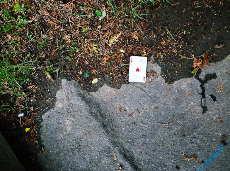 Azt üzente a kártya, hogy jó úton járok.