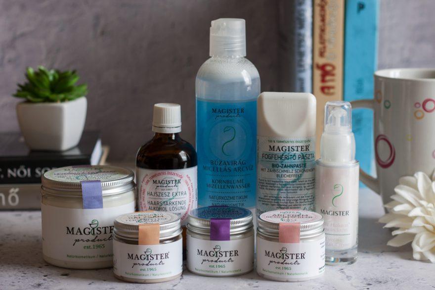 Kipróbáltam a Magister Products natúrkozmetikumait az érzékeny bőrömre